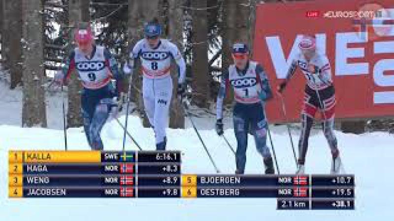 Лыжные гонки. Женщины - PURSUIT 10 км. [классика] \ Кубок мира. Тоблах, Италия 17.12.2017