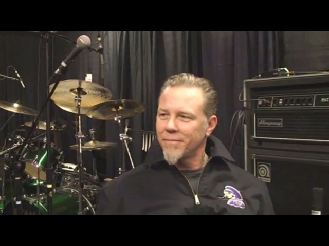Interview with Metallica's James Hetfield in Las Vegas, NV, USA (2009)
