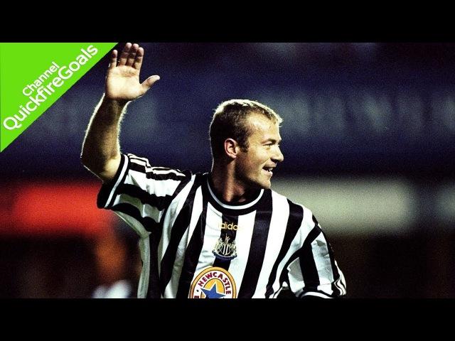 Alan Shearer's 206 goals for Newcastle United