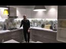 Угловая кухня с фурнитурой Blum (Блюм). Фасады МДФ. Столешница искуссветнный камень.