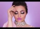 Purple LipsMauve Glitter Eye Makeup Tutorail