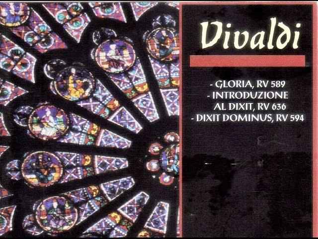 Vivaldi. Gloria, Dixit Dominus. Vittorio Negri.
