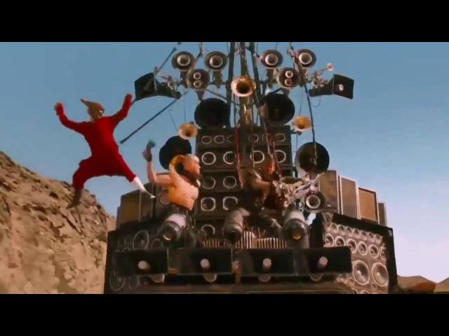 Mad Max Fury Road - Guitar Guy Full Scenes HD
