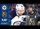 NHL 18 PS4. REGULAR SEASON 2017-2018 Winnipeg JETS VS Vegas GOLDEN KNIGHTS. 11.10.2017. NBCSN !