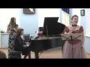 A. Lotti Canzona_Elena Isaeva (soprano), Irina Stachinskaya (flute), Irina Stachinskaya (piano).