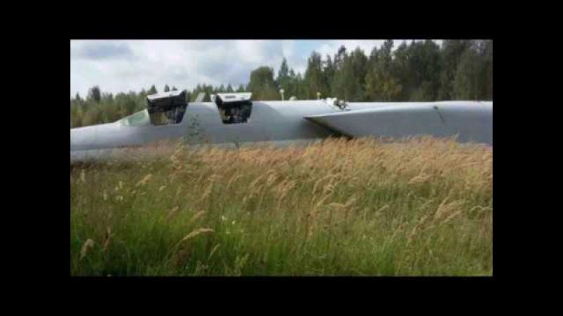 Авария Ту-22М3 в ходе учений Запад-2017.