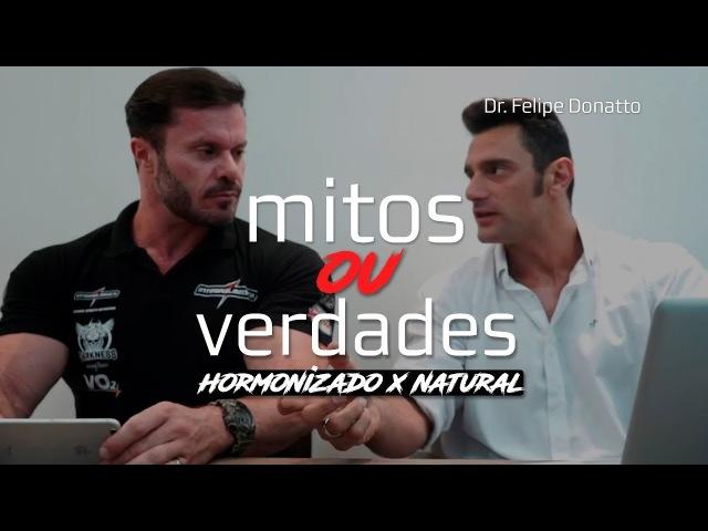 QUANTIDADE DE PROTEÍNAS NATURAIS VS HORMONIZADOS MITOS OU VERDADES