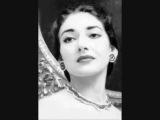 Maria Callas sings