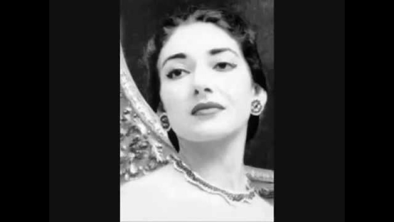 Maria Callas sings Queen of the Night aria from The Magic Flute by Mozart