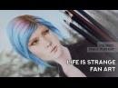 Life Is Strange Fan Art - Chloe speed drawing - Sophie Wolf