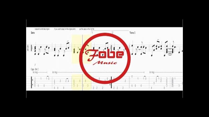 Twenty One Pilots - Heathens / Guitar Acoustic Fingerstyle Tab