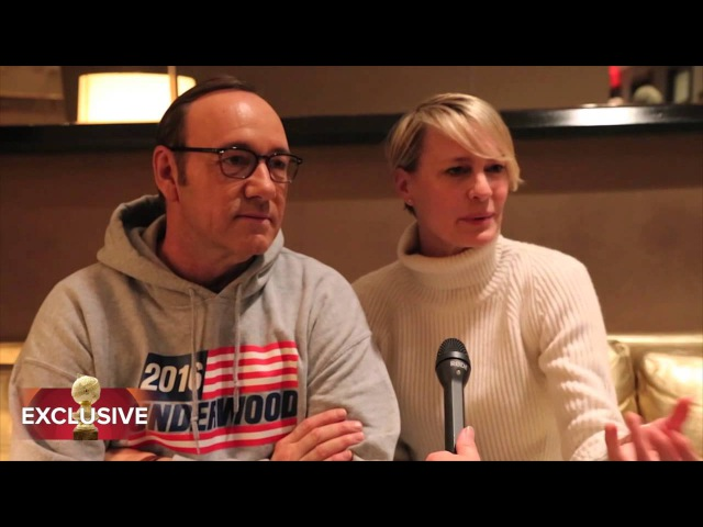 Visiting with the Underwoods from House of Cards: HFPA Exclusive