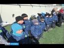Юные спортсмены из Петровска побывали на тренировке сборной России по футболу