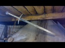 Self-made sword.