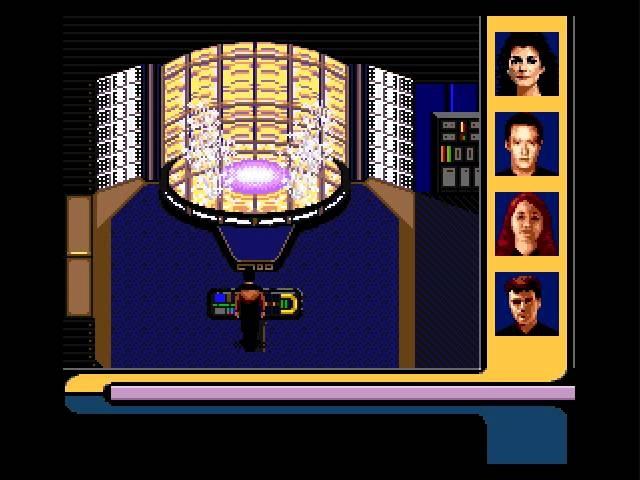 Star Trek The Next Generation - Game Solution (Sega Genesis, 1994) (Прохождение)