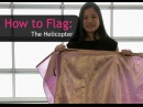 Worship Praise Flags Teaching How to do The Helicopter CALLED TO FLAG banners ft Claire