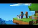 Minecraft дом в пещере | мини игры | снежки | бой | полет