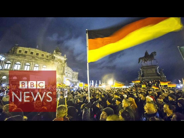 Anti-Islam Pegida rally in Dresden sees record turnout