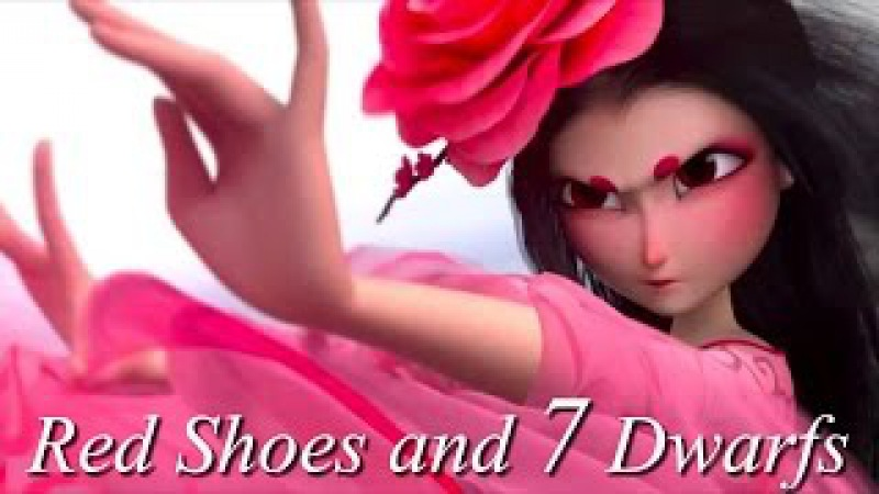 ▻ ▻ ▻Red shoes the 7 dwarfs ▻ ▻ ▻