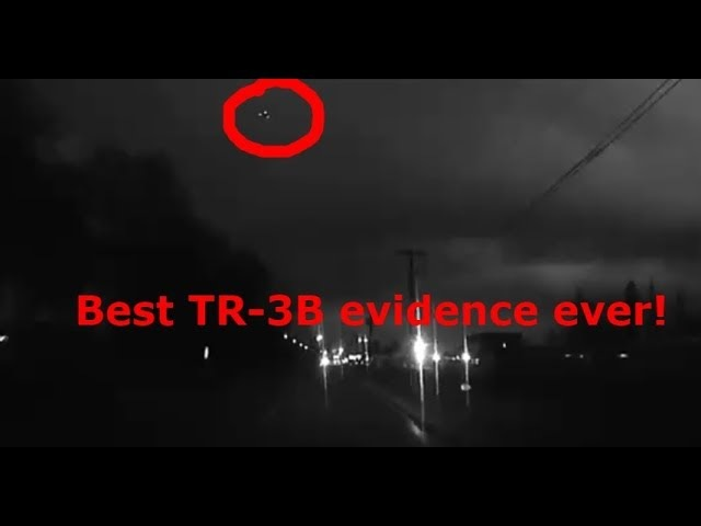 Is this the best evidence of the TR-3B ever? UFO sighting