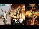 05 Upcoming Big Budget Bollywood Movies 2017 and 2018  Tiger Zinda Hai  2.0 (Robot 2)