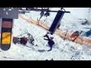 კატასტროფა გუდაურში საბაგიროზე Accident in ski lift Gudauri Georgia