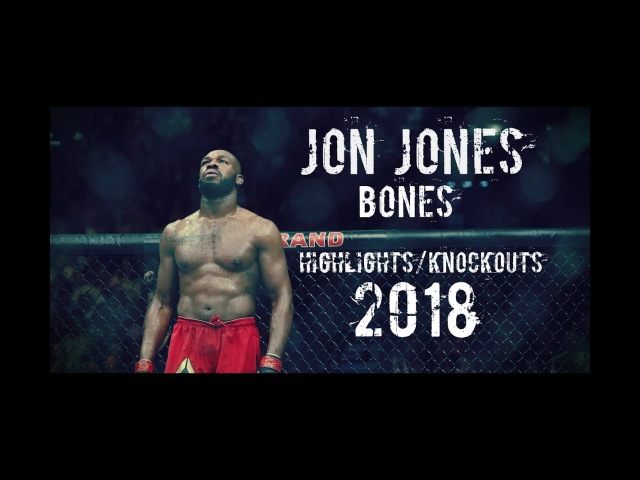 Jon Jones-Bones |Highlights/Knockouts| 2018 HD 1080p