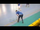 Столица 3-9 GS Warriors. DKC чемпионат по мини-футболу 2017/2018. 12-й тур (04.02.2018)