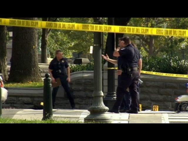 ВСША полиция застрелила женщину, пытавшуюся намашине протаранить заграждения уБелого Дома