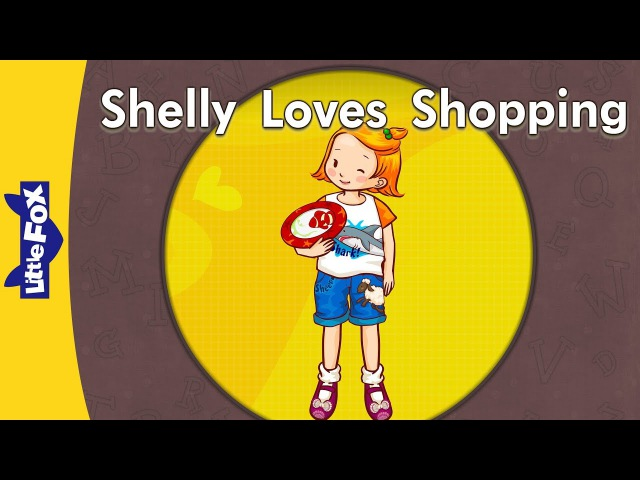 'sh' words: Shelly Loves Shopping | Level 3 | By Little Fox