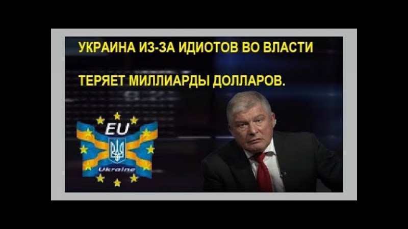 Червоненко: Украина теряет миллиарды долларов из-за дебилов управляющих сегодн ...