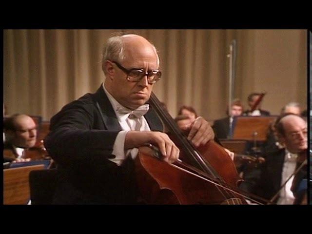 Antonín Dvořák Cello Concerto in B minor Op.104, Mstislav Rostropovich