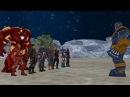 Thanos vs Avengers , ( Thanos vs Ironman , Hulk , Captain America , Thor , Spiderman )