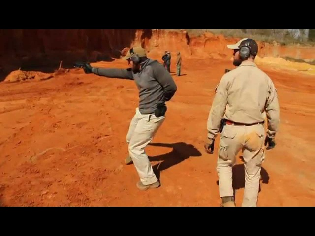 Navy SEAL Instruction-One Arm Shoot Drill Under Stress Trident Fitness