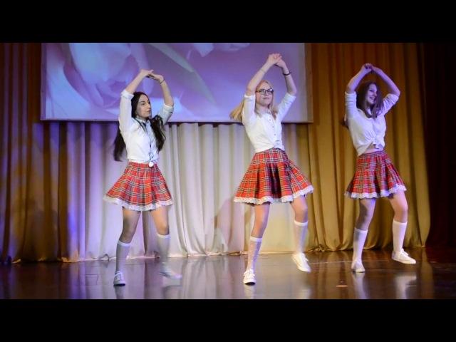 Школьницы в гольфах танцуют под Despacito - Домисоль