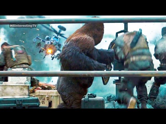 Планета обезьян: Война / War for the Planet of the Apes (2017) трейлер