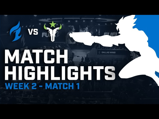 Dallas Fuel vs Houston Outlaws - Highlights