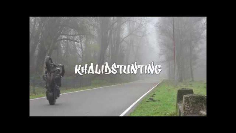 Khalid stunting - no hander rev limiter coaster