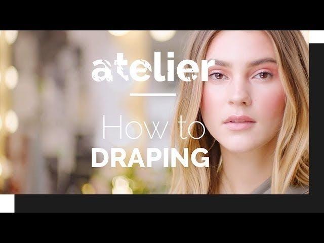 How to: Draping – der BLUSH TREND mit Stefanie Giesinger