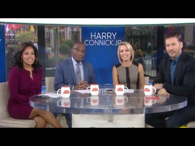 Harry connick jr.on his talk show, will and Grace and more