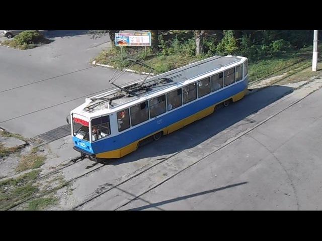 Трамвай Днепродзержинска 2013 2014