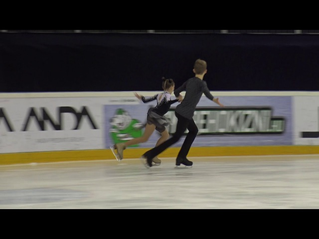 2017 Santa Claus Cup Sofiia KACHUSHKINA-Egor GONCHAROV(RUS)--ID ADVANCED NOVICE FREE DANCE