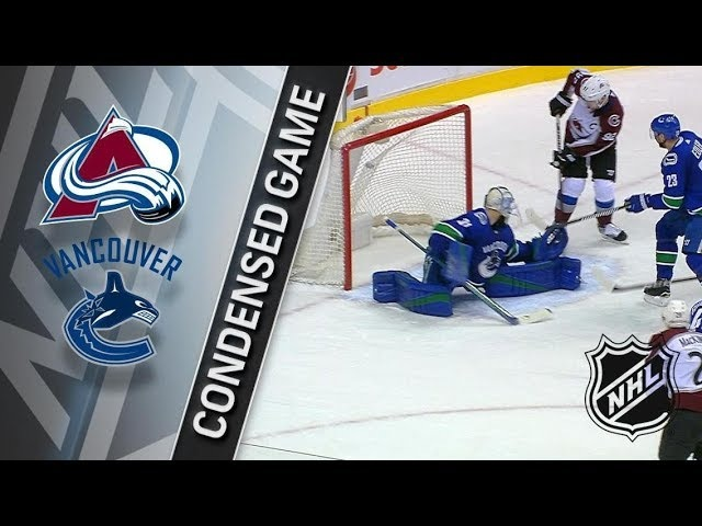 Colorado Avalanche vs Vancouver Canucks – Feb. 20, 2018 | Game Highlights | NHL 2017/18. Обзор