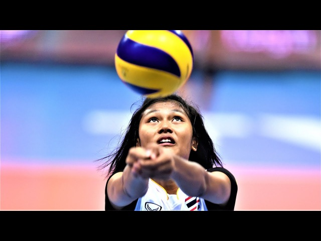 TOP 10 Fantastic Volleyball Spikes by Pimpichaya Kokram (พิมพิชญา ก๊กรัมย์) | World Grand Prix 2017