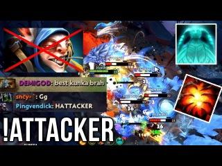 !HATTACKER Kunkka GOD Aegis Snatch + Invis Kill - Dota 2 EPIC Compilation