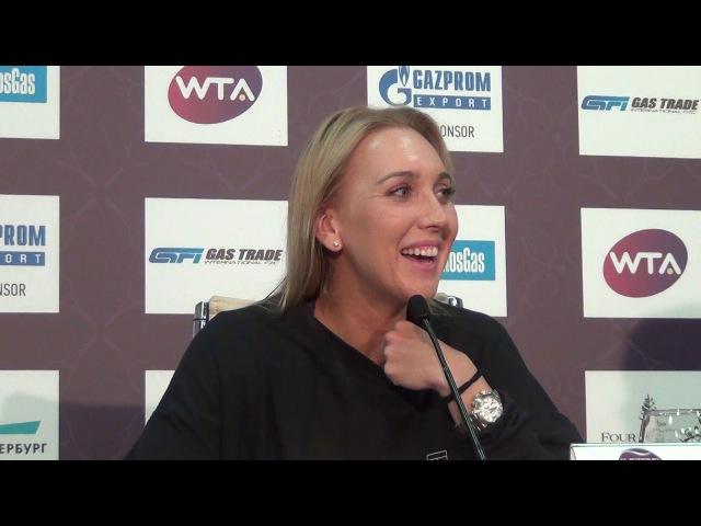 Елена Веснина выбыла из St. Petersburg Ladies Trophy