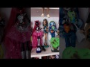 Моя коллекция кукол Монстр Хай обзор