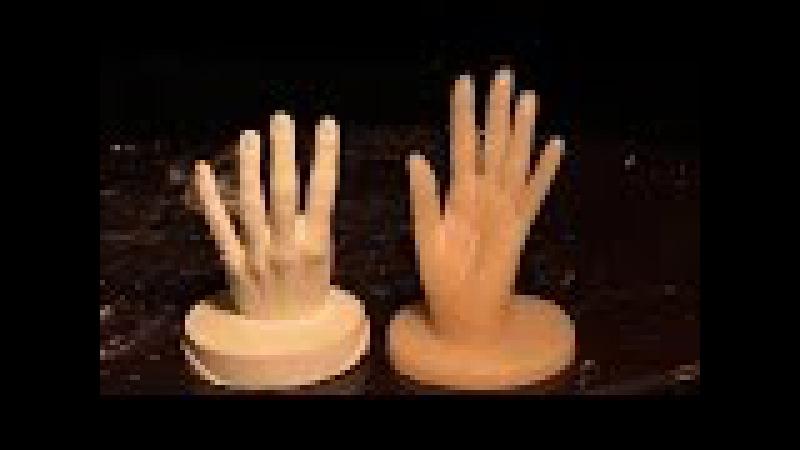 Как сделать точную копию руки из гипса или силикона