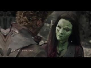Gamora | Гамора | Peter Qwill | Питер Квилл | vine
