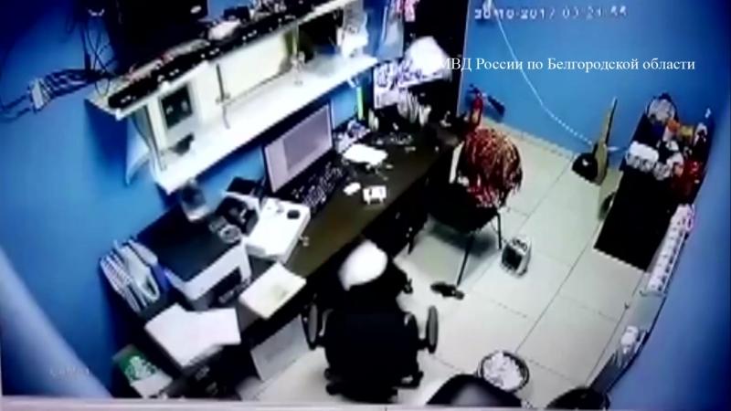 В Белгородской области ограбили букмекерскую контору